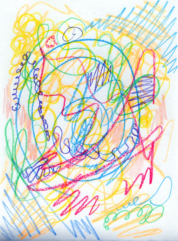 Scribble Drawing For Kids : Susan sorensen november
