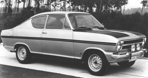 opel kadett coupe. let go of the bag and rest