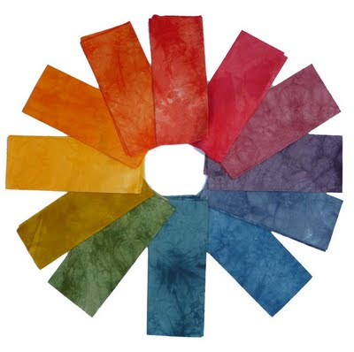 12 part colour wheel