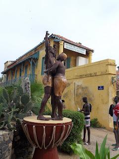 Monumento aos escravos oferecido por Guadalupe