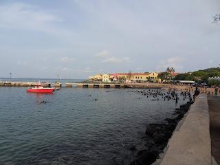 Praia em Gorée