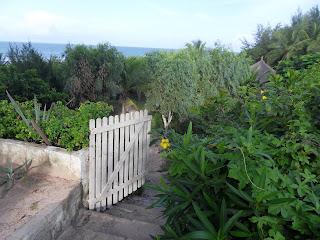 Portão de acesso à praia