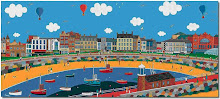 Morecambe by artist Chas Jacobs