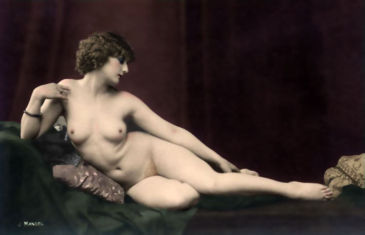 ... photographer of tasteful and meticulously posed nudes was a pseudonym, ...