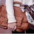 сумка, коричневый, мода, девушка, белый.