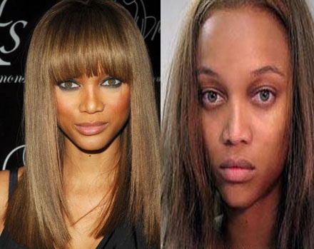 tyra banks no makeup. No Makeup Tyra. Tyra Banks