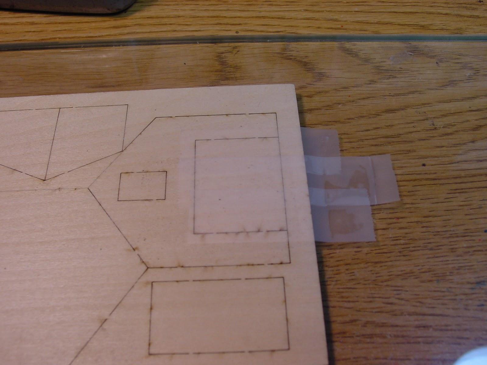 The model railroader 39 s notebook your first laser kit 03 basic barn kit painting the barn inside for Overlapping interior barn doors