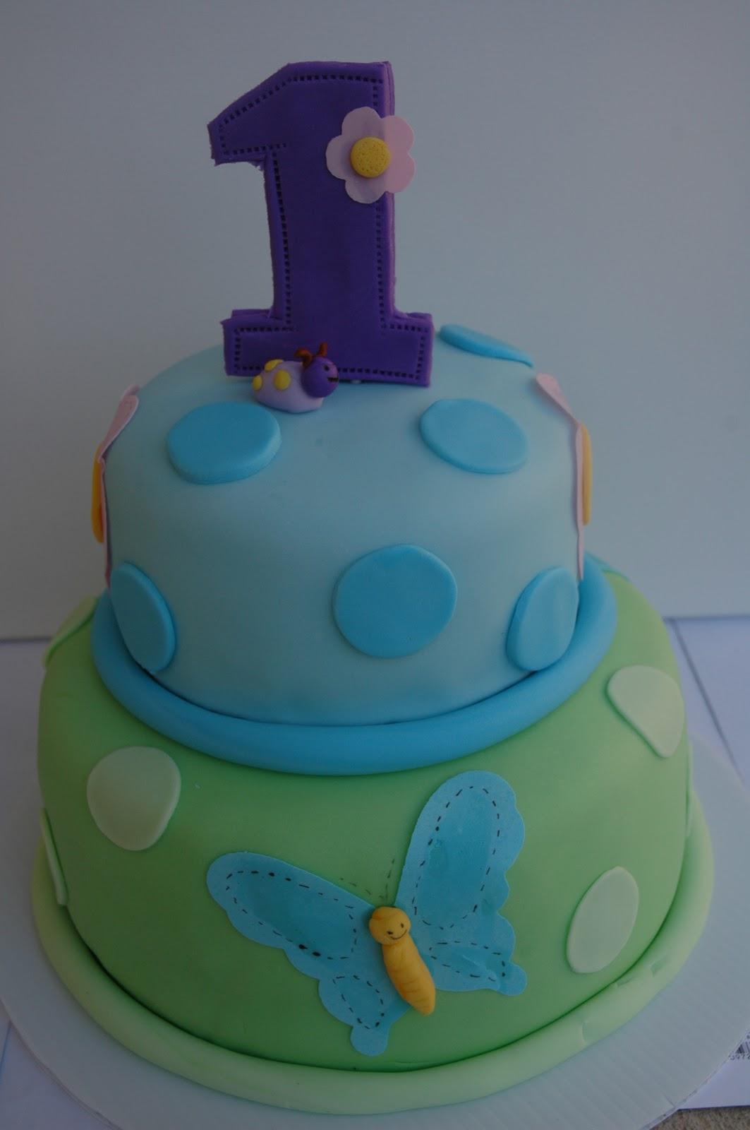 Swanky Pear 1st Birthday Cake