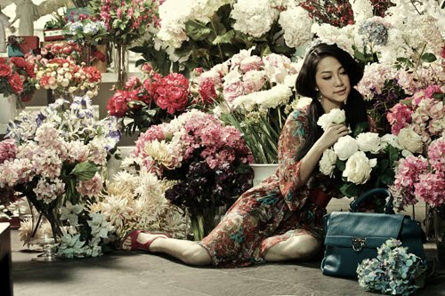 pretty vietnamese girl glamour images