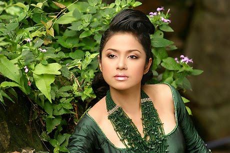 vietnamese model viet trinh in ao dai actress pics