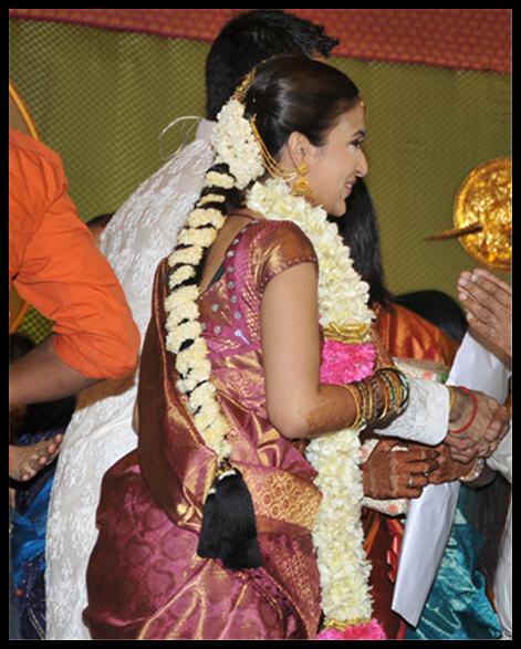 Tamil Nadu Bridal Hairstyle