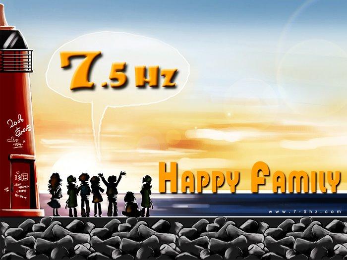 7.5Hz Happy Family