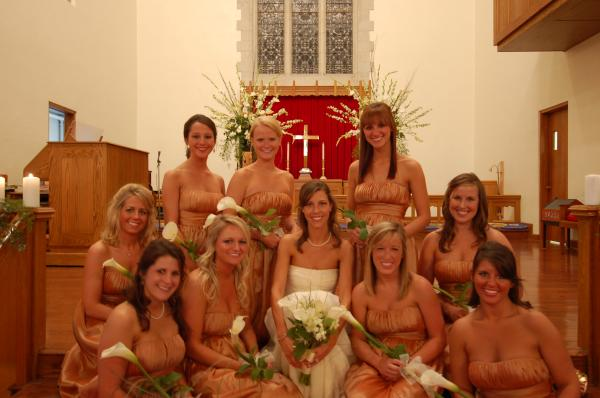 ME WITH MY BEAUTIFUL BRIDESMAIDS