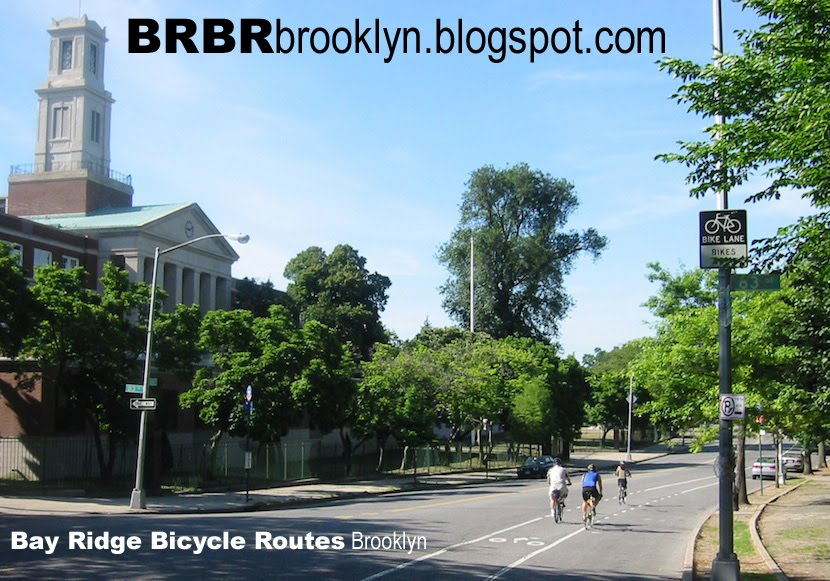 Bay Ridge Bicycle Routes - Brooklyn