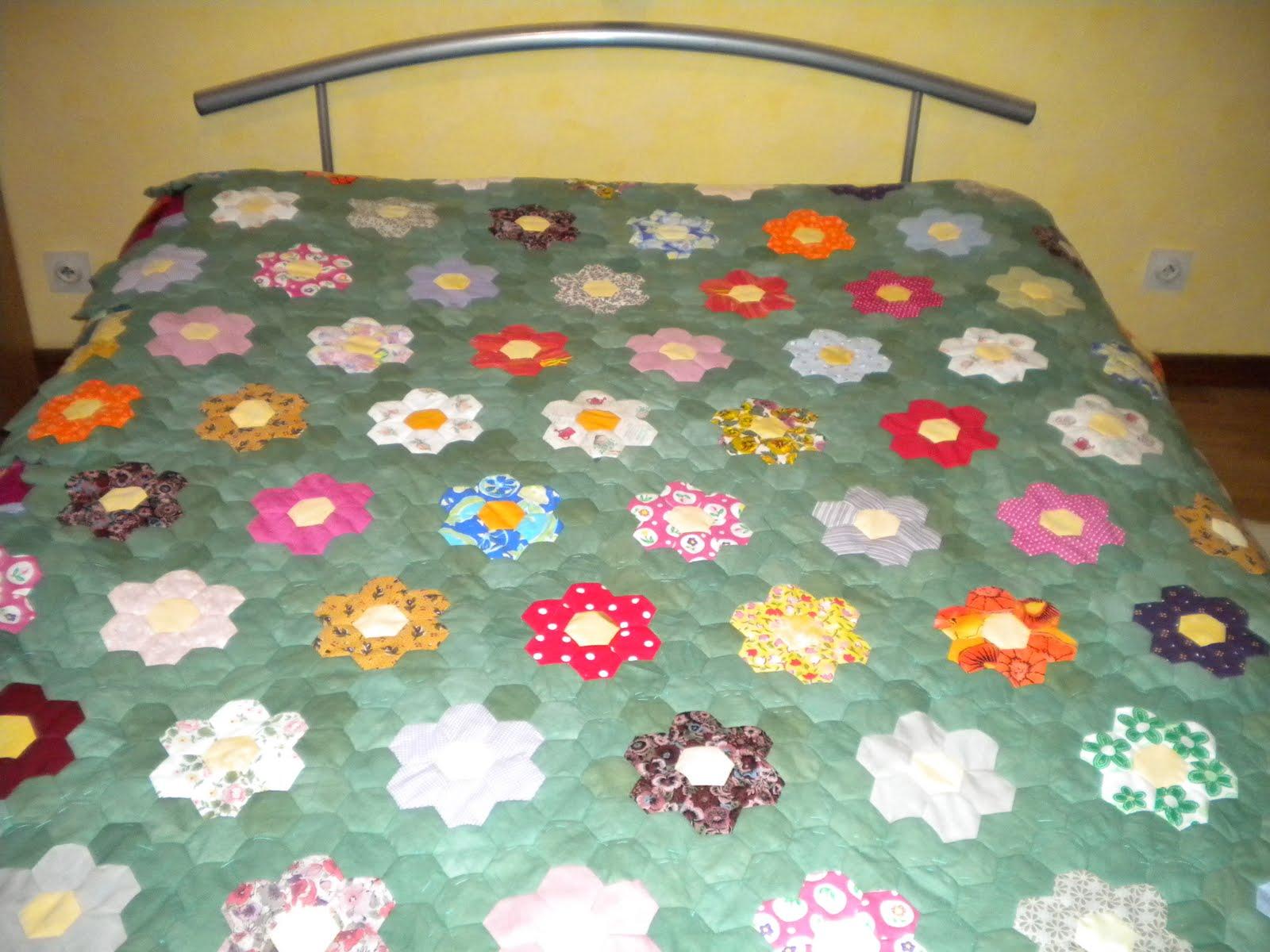 13 active couvre lit en patchwork - Couvre lit pour grand lit ...