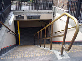 Bethnal Green station, southeast entrance