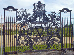 Hampton Court - through a gate