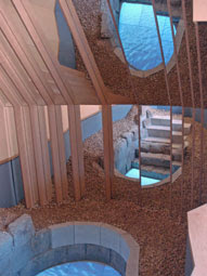 mikveh at Jewish Museum