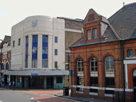 Rex Cinema, and Stratford Market station
