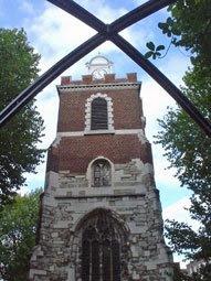St Mary's church, Bow
