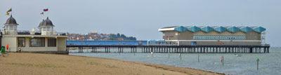 Herne Bay (pier stump, and Pier Pavilion)