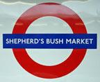 Shepherd's Bush Market roundel