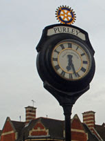 Purley Cross Rotary Clock