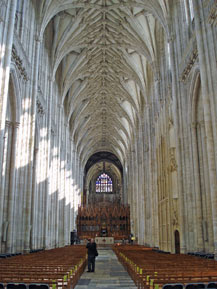 Winchester Cathedral nave