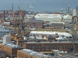 the Victory and the Mary Rose Ship Hall