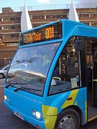 London 2012 tour bus