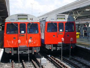 Circle line at Hammersmith