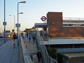 Bromley-by-Bow tube station