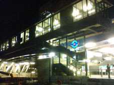 South Quay station