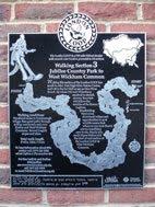 London Loop 3 plaque - Petts Wood