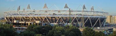 Olympic Stadium - July 2010