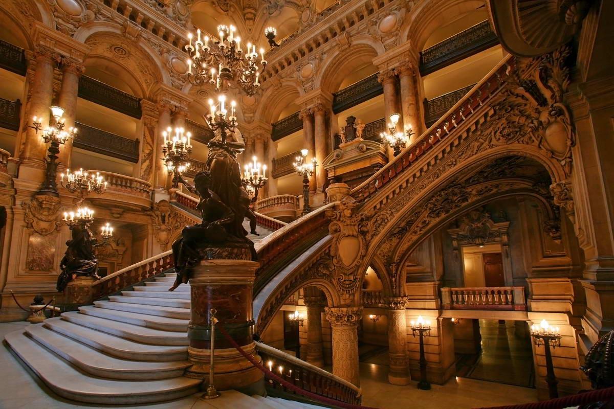 Paris France Opera House