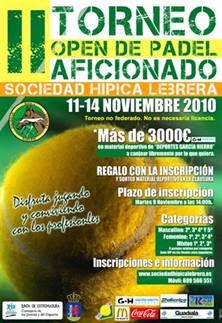 Torneo de Padel Aficionado y Profesional en Badajoz