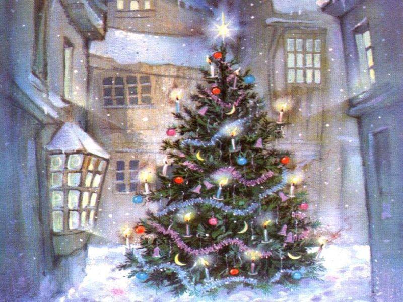 origen del rbol de navidad