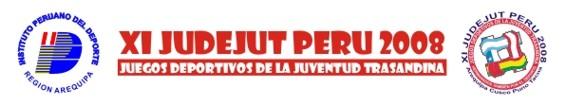 XI JUDEJUT PERU 2008