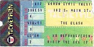 Clash Ticket Stub