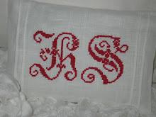 Lavendelpåse från Pearls Of Zelma med mitt monogram