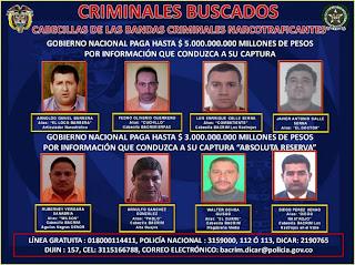 Fotos de los colombianos mas buscados 26