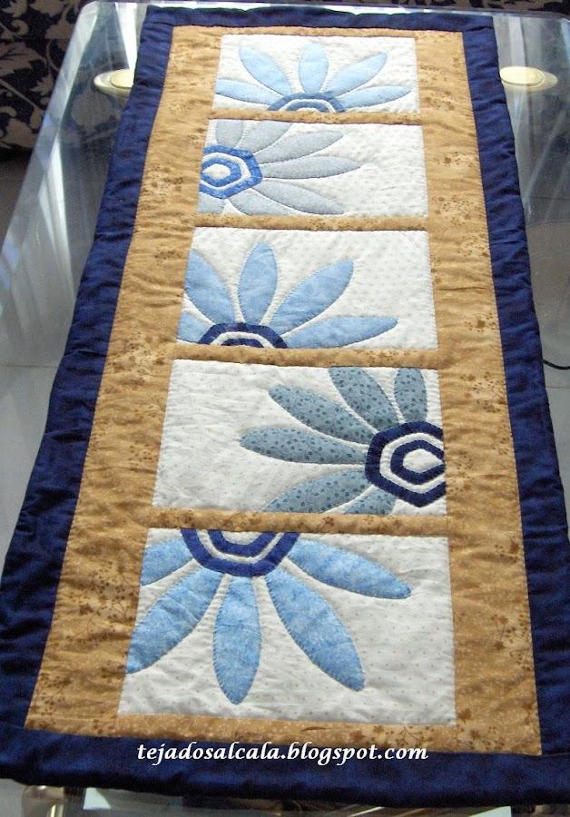 Patchwork camino de mesa - Camino mesa patchwork ...