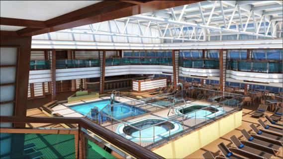Costa favolosa pazzo per il mare cruise magazine - Costa luminosa piscine ...
