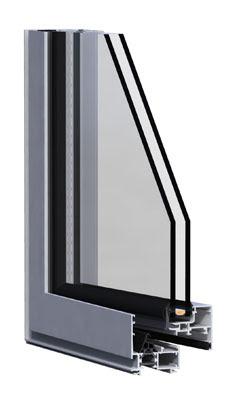 Ventana optica hoja oculta de alumafel alces for Marcos de ventanas de aluminio