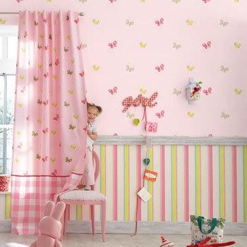 Papel pintado infantilthe little friend camengo d 39 orte zaragoza cortinas estores panel - Papel pintado zaragoza ...