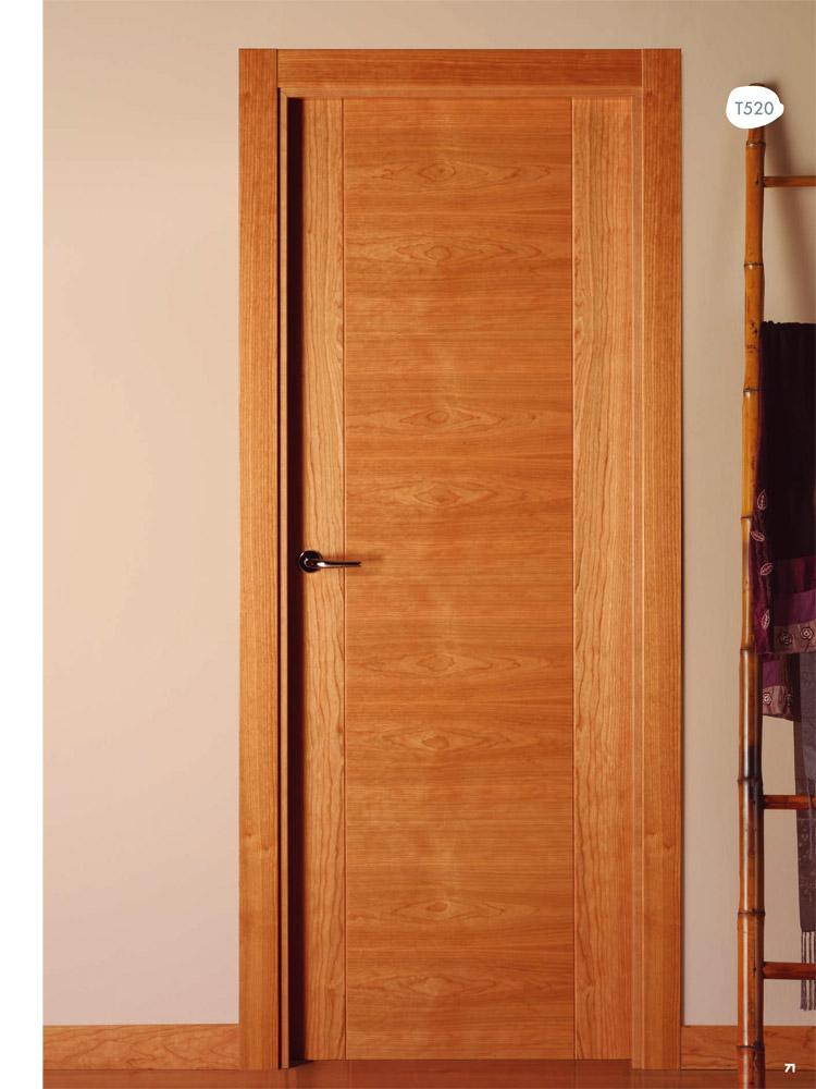 Puerta de interior t520 en cerezo visel artideco Puerta insonorizada precio