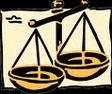 O simbolo da BALANÇA significa o equilíbrio entre as partes envolvidas numa relação de Direito!!!