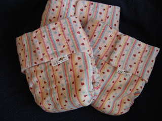 new sweet heart fitted diapers at LilBees