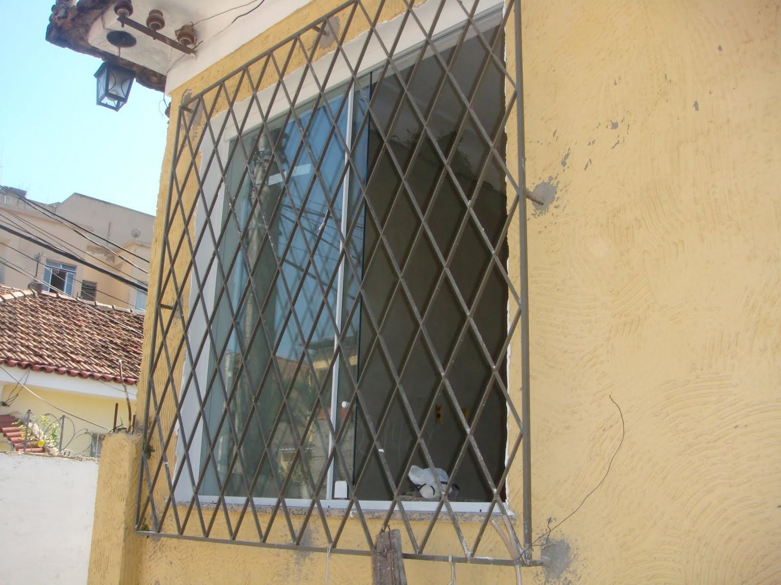 #91733A Lar Primeiro Lar: Janelas 4132 Grade De Aluminio Para Janela Rio De Janeiro
